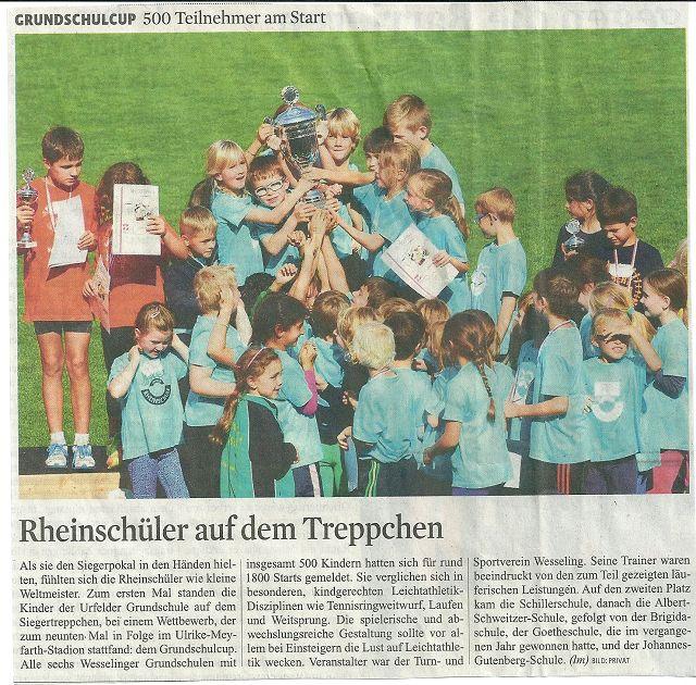 Grundschulcup 2014